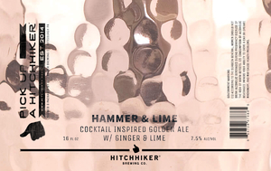 Hammer & Lime - Cocktail Inspired Golden Ale - 4-Pack
